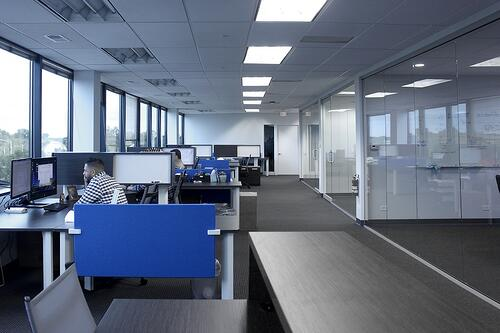New open concept workstations