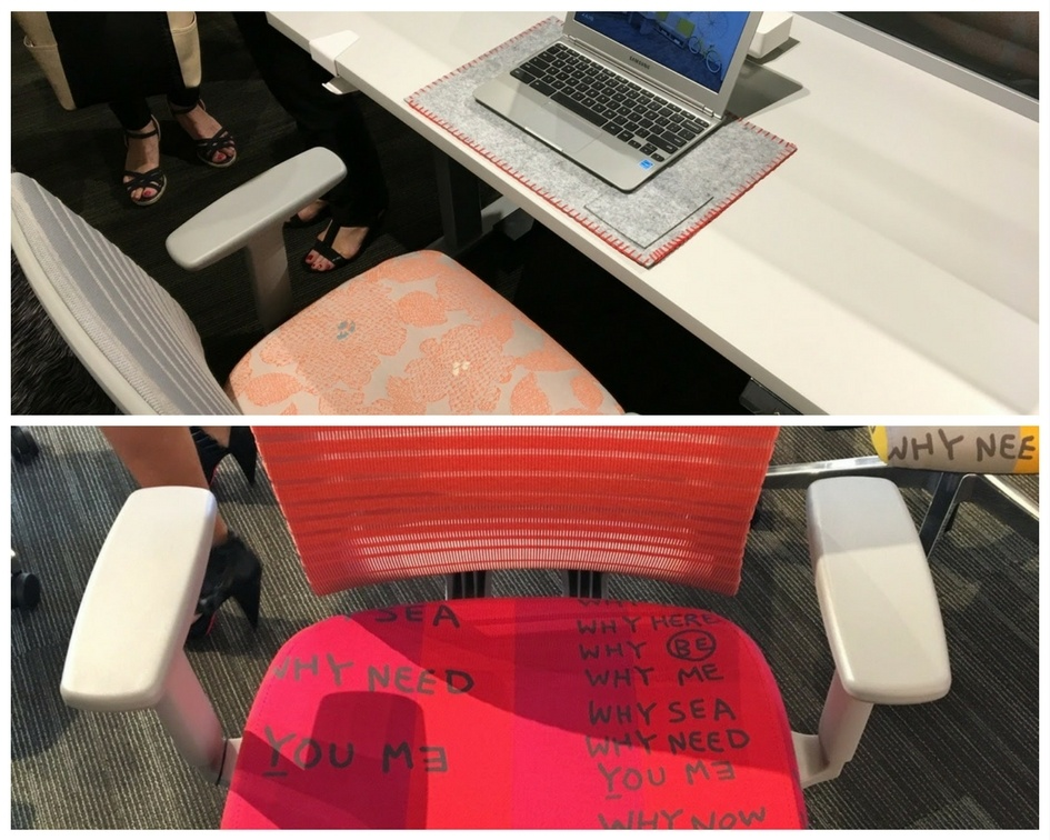 Clean workstations and the Natick task chair