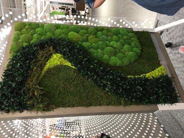 Claridge moss back glassboard